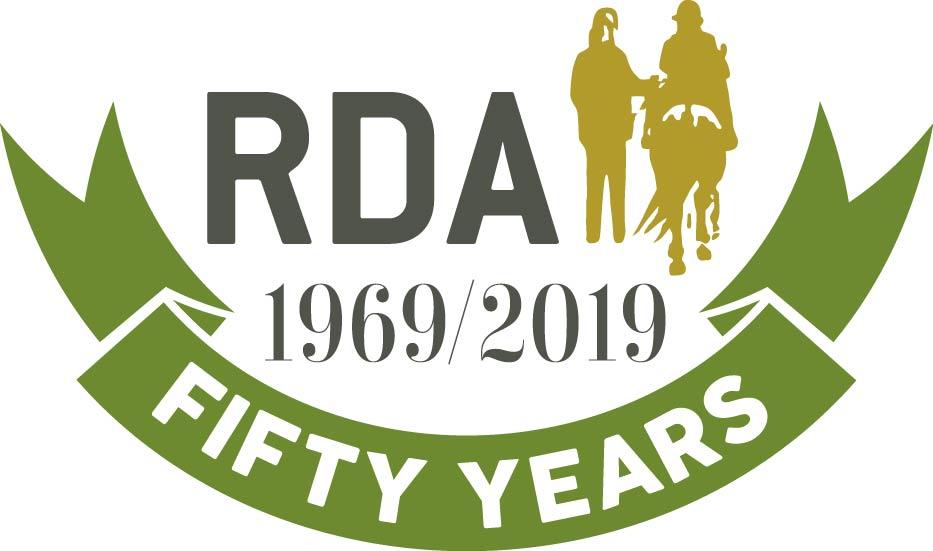 RDA 50th logo